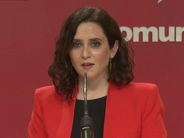"""Isabel Díaz Ayuso, sobre la candidatura de Pablo Iglesias en Madrid: """"España me debe una porque he sacado a Iglesias de Moncloa"""""""
