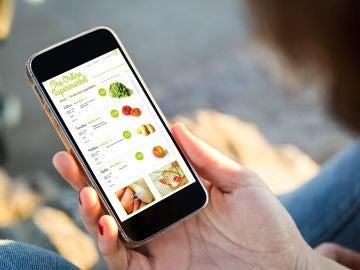 Compras online en un supermercado