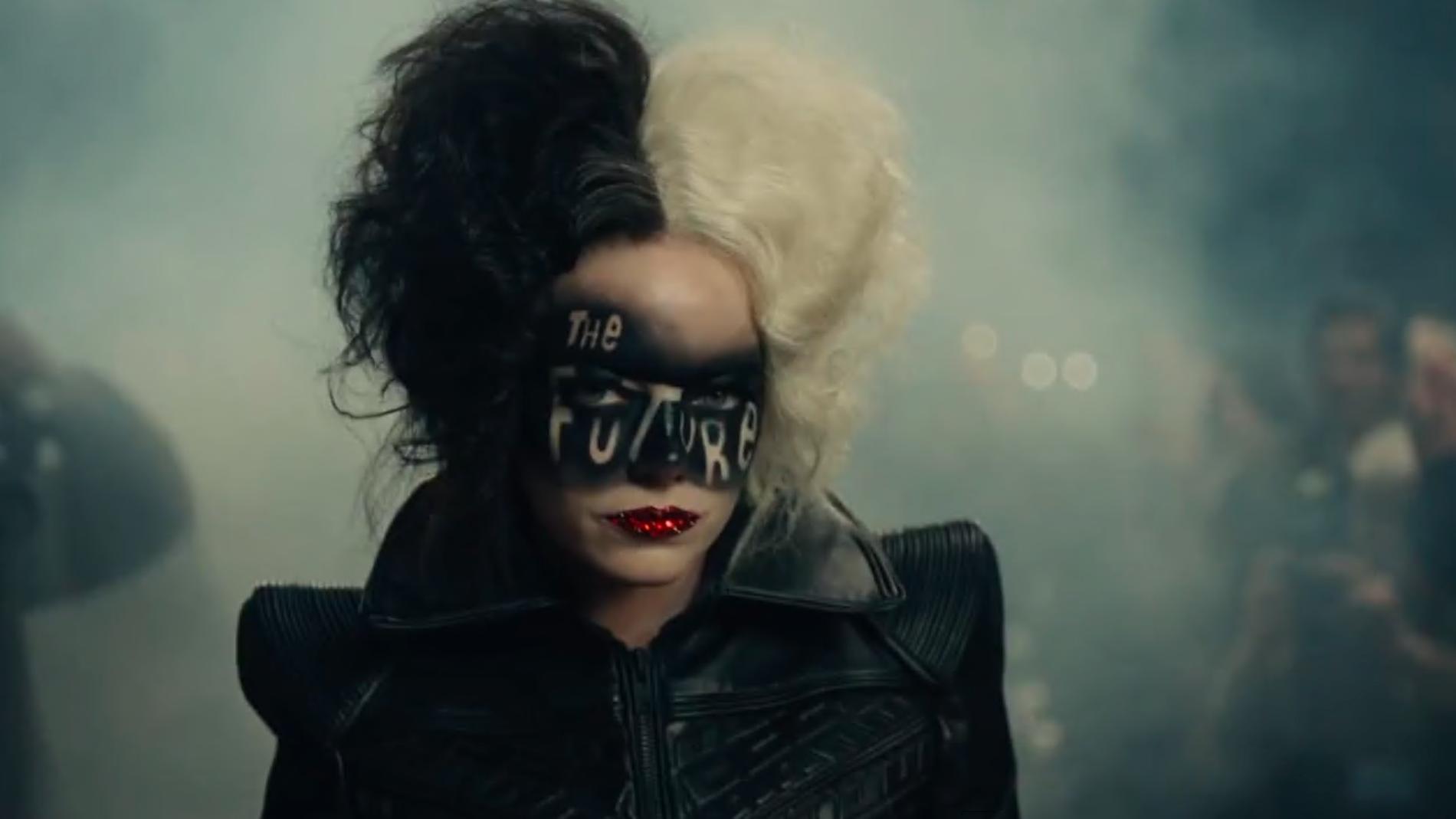 Emma Stone en 'Cruella'