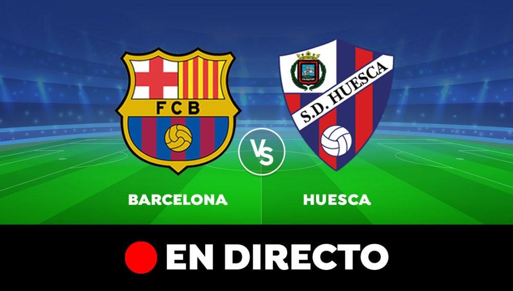 Barcelona - Huesca: Partido de hoy de Liga Santander, en directo