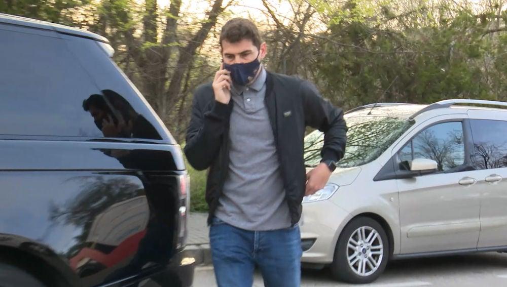 Iker Casillas, tras anunciase su separación