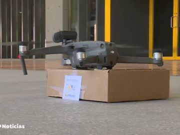 Drones para repartir comida a domicilio en España