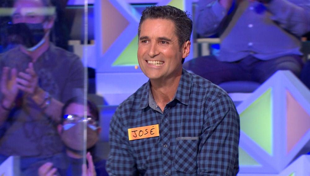 """José arrasa con su forma de jugar en 'La ruleta de la suerte': """"Parece que tiene una ruleta en casa"""""""