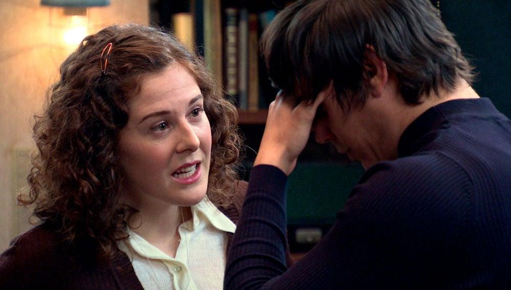Virginia incomoda a Fabián hablando de sentimientos