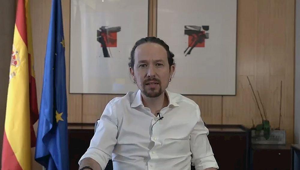 Pablo Iglesias anuncia que dejará el Gobierno y será candidato de Unidas Podemos a la presidencia de Madrid