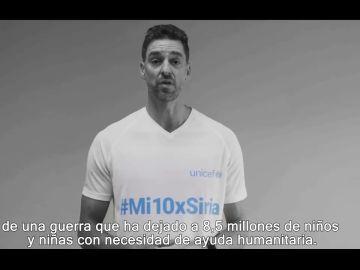 Fernando Alonso, Pau Gasol y Sergio Ramos se unen a UNICEF para apoyar a los niños afectados por diez años de guerra en Siria