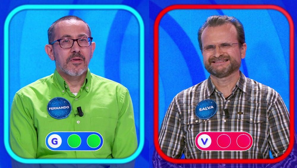 Fernando se incorpora a 'Pasapalabra' tras eliminar a Salva en la 'Silla Azul'