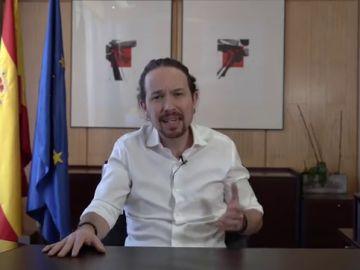 VÍDEO: Pablo Iglesias anuncia que dimite como vicepresidente para ser candidato en las elecciones de Madrid