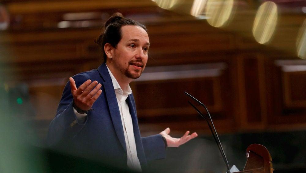 El líder de Podemos y vicepresidente segundo del Gobierno, Pablo Iglesias