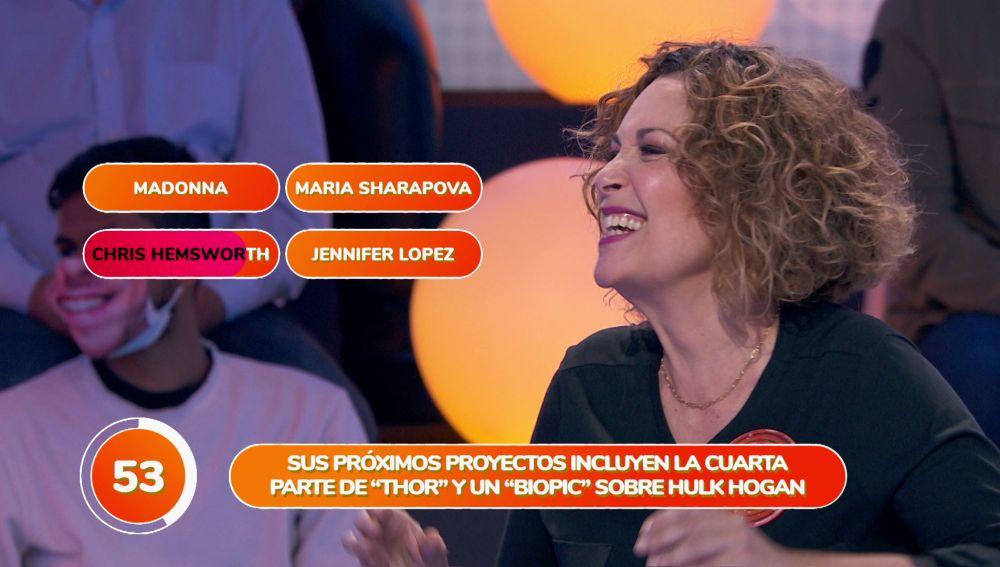 Cristina Plazas se lía con Chris Hemsworth y Jennifer López en 'Una de Cuatro'