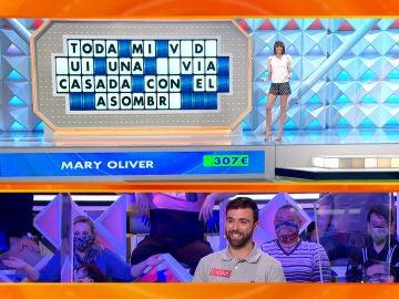 """El triple intento fallido de Diego en 'La ruleta de la suerte': """"O resuelves o paras"""""""