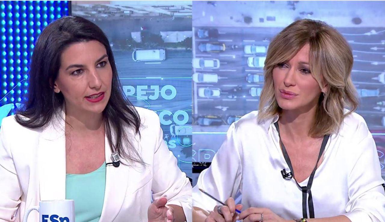 Rocío Monasterio en Espejo Público.
