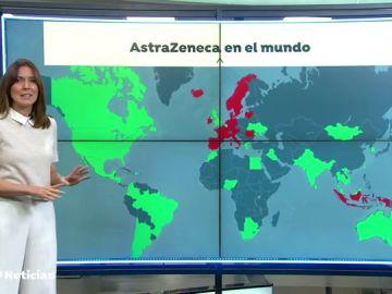 Los países de Europa que han decidido suspender la vacunación con la vacuna de AstraZeneca