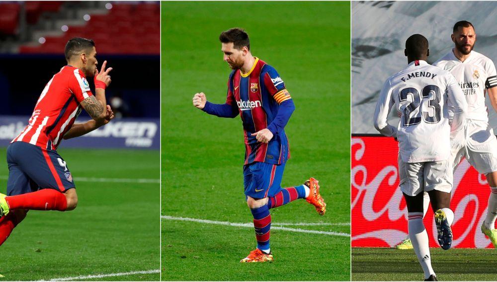 Atlético, Barcelona y Real Madrid: ¿Quién es el favorito para ganar la Liga?