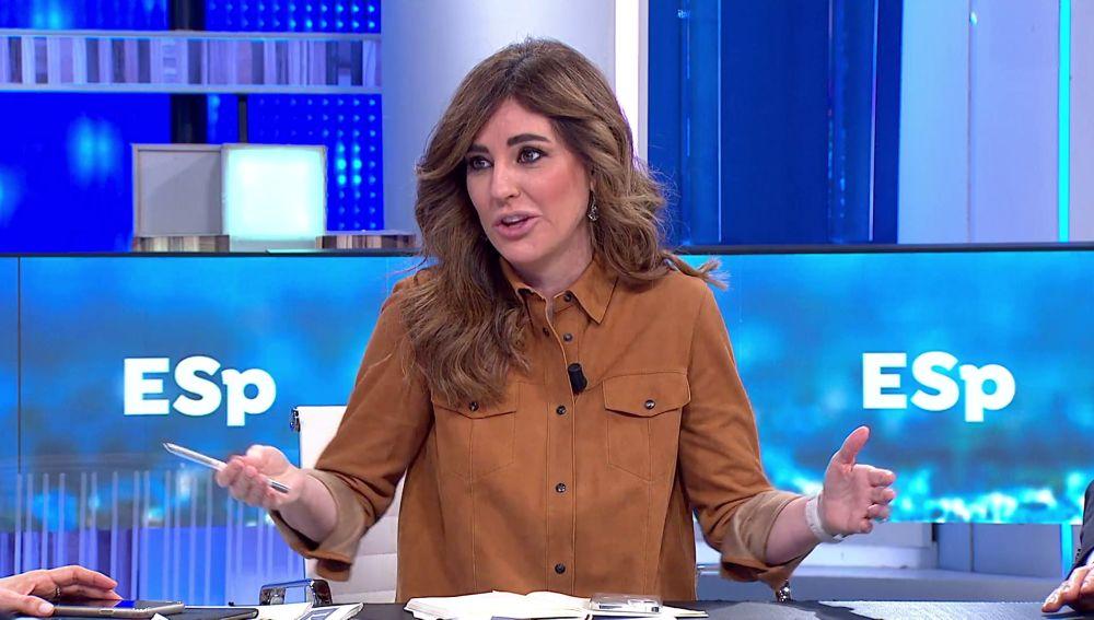 Ainara Guezuraga, en Espejo Público