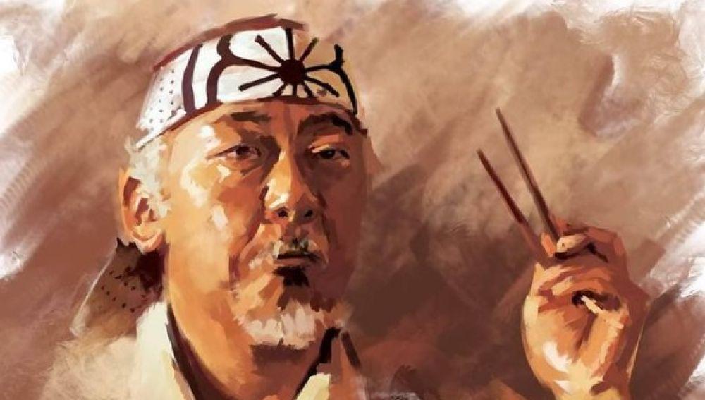 La increíble vida de Pat Morita, el señor Miyagi en Karate Kid: recluido en un campo de concentración, cómico fracasado, alcohólico...