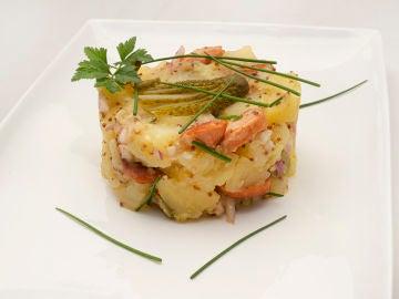 "La receta de ensalada alemana de patata, de Arguiñano: ""Nos gusta a todos"""