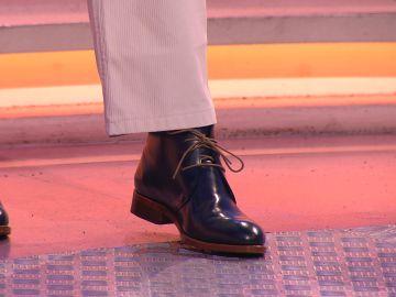 Manolo desvela sus secretos para lucir sus zapatos en '¡Boom!'