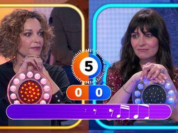 Un dueto… frustrado: Marta Fernández y Cristina Plazas lo intentan todo en 'La Pista'