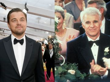 Leonardo DiCaprio y Steve Martin
