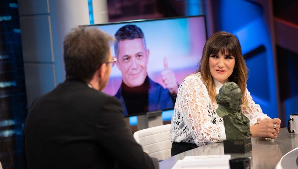 Rozalén confiesa en 'El Hormiguero 3.0' el momento en el que dejó plantado a Alejandro Sanz por una lavadora