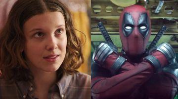 Millie Bobby Brown en 'Stranger Things' y Ryan Reynolds en 'Deadpool'