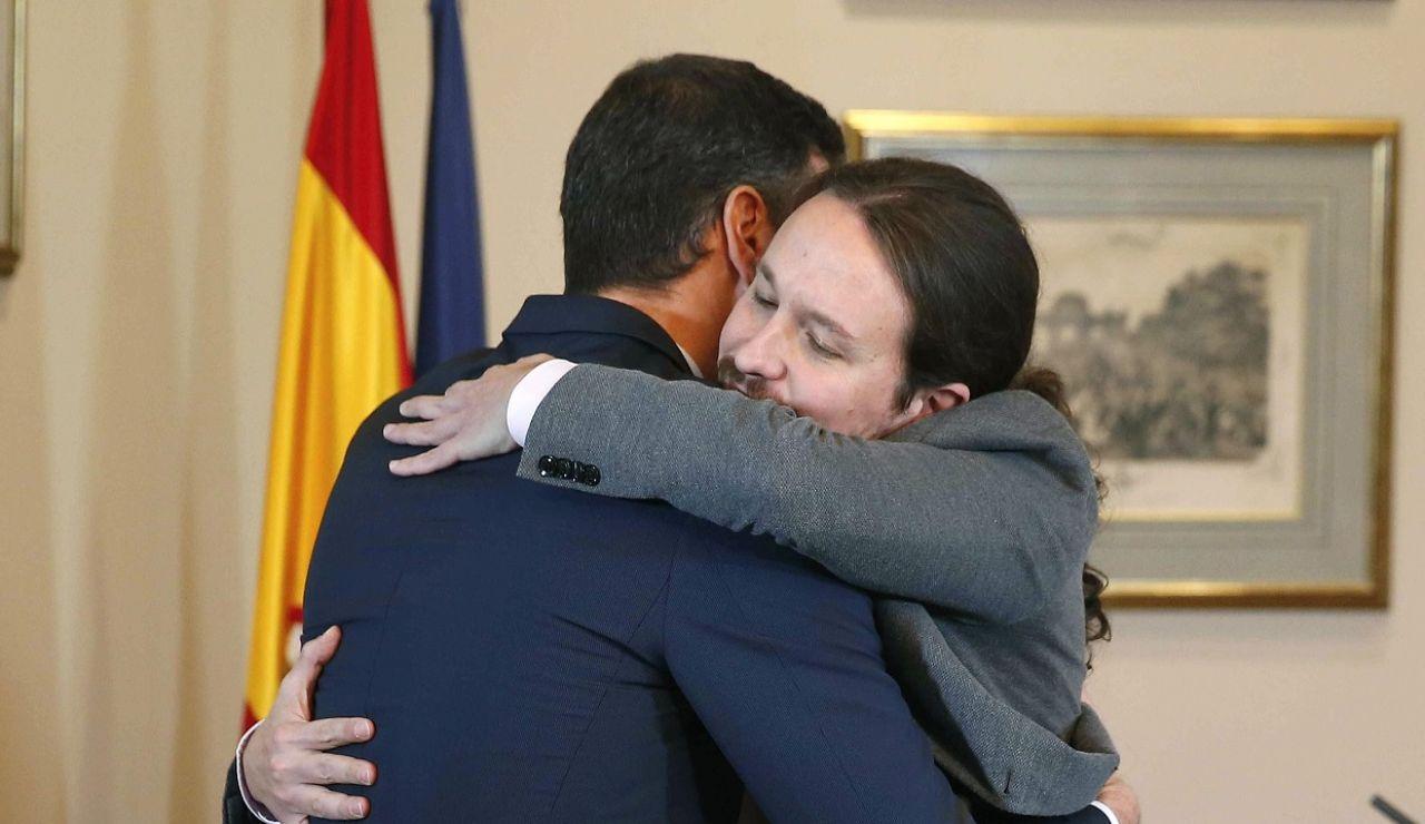 Los 442 días de Pablo Iglesias en el Gobierno de coalición con un pulso permanente con el PSOE de Pedro Sánchez