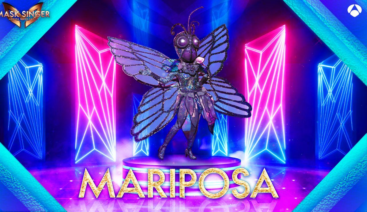 La Mariposa, máscara confirmada para la segunda edición de 'Mask Singer'