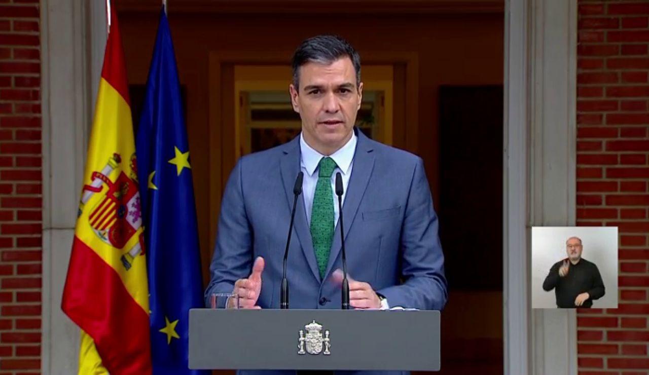 """Pedro Sánchez anuncia el nuevo Gobierno tras la salida de Iglesias: """"Hay más mujeres que hombres"""""""