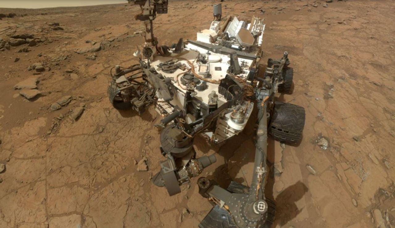 El Curiosity sorprende con un nueva imagen del planeta Marte