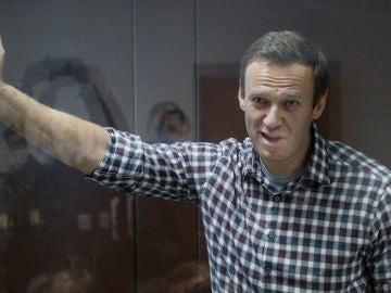 Alexei Navalni se declara en huelga de hambre desde la cárcel