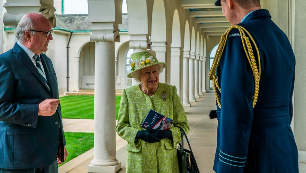 La reina Isabel II, este miércoles