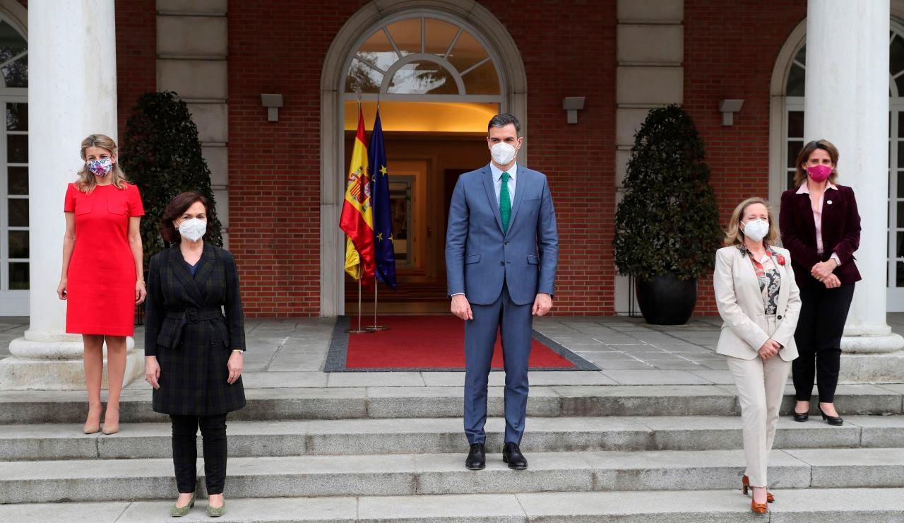 Los nuevos delegados y miembros del Gobierno juran sus cargos en Zarzuela