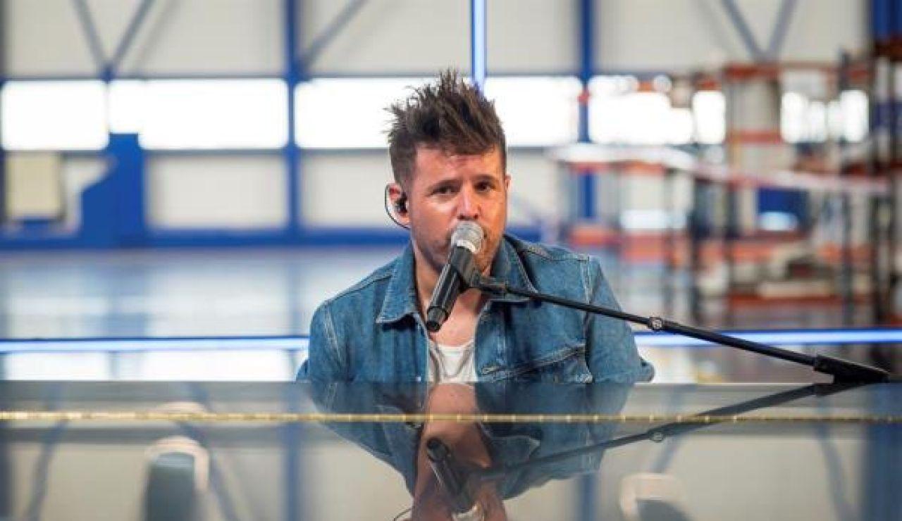 Pablo López presenta su gira en el aeropuerto de Palma de Mallorca