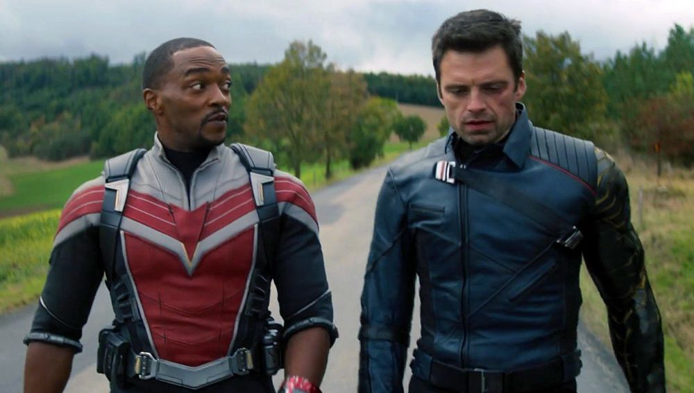 Sam y Bucky en 'Falcon y el Soldado de Invierno'