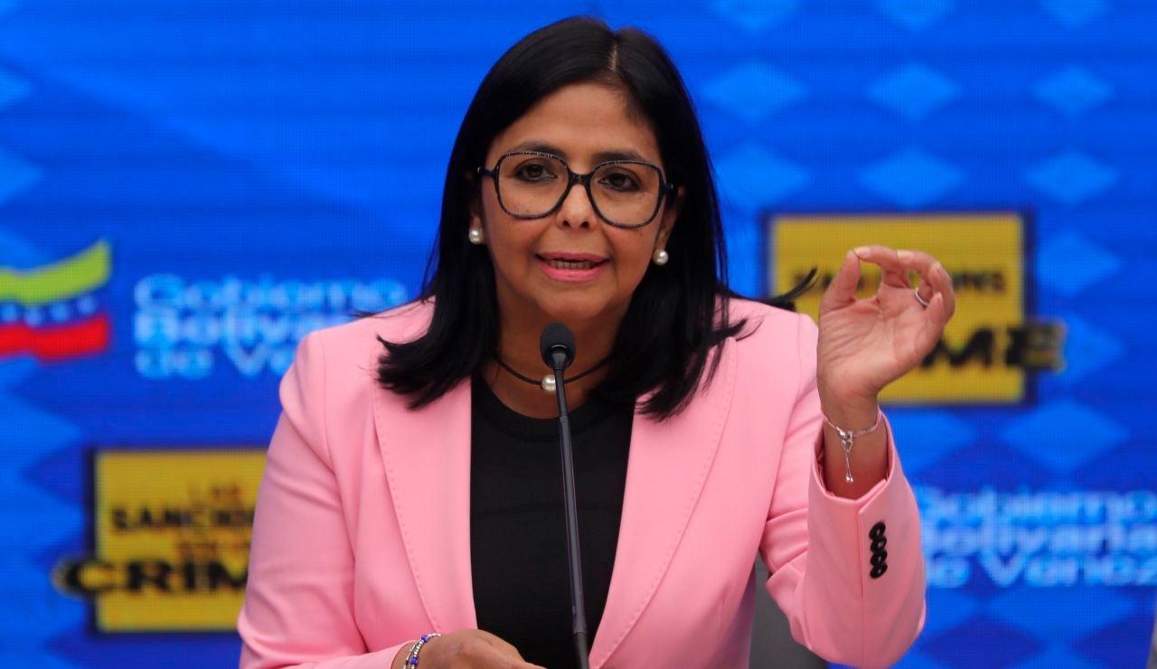 La vicepresidenta de Venezuela, Delcy Rodríguez