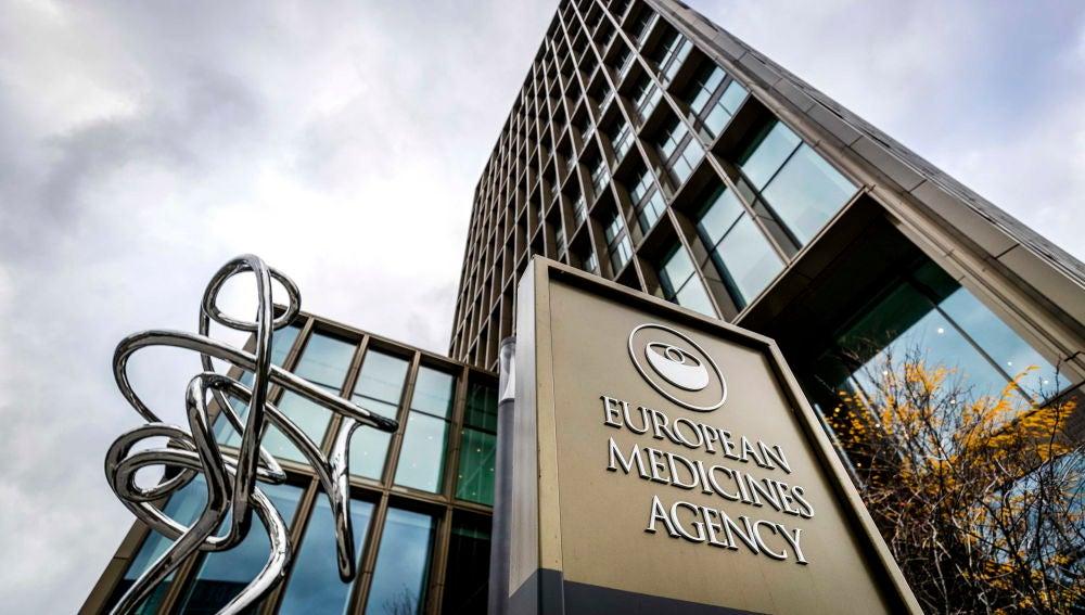 Fachada de la Agencia Europea del Medicamento (EMA)