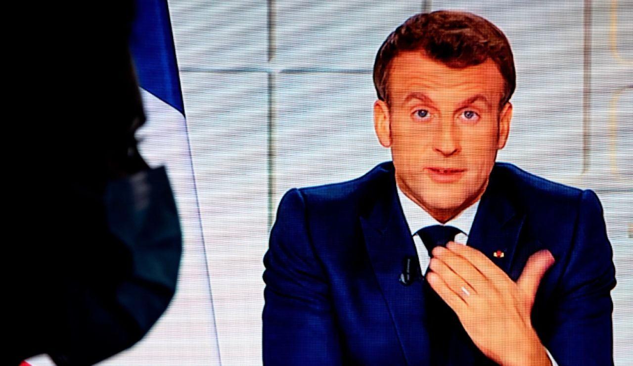 Macron confina a todo el país ante el aumento de contagios de coronavirus en Francia