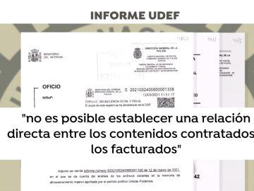 La UDEF cuestiona los trabajos de Neurona a Podemos