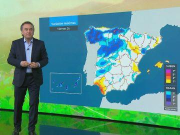 La previsión del tiempo hoy: Temperaturas superiores a lo habitual y calima en amplias zonas de la península
