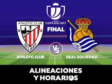 Athletic Club - Real Sociedad: Horario, alineaciones y dónde ver el partido de la final Copa del Rey 2020 en directo