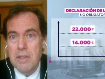 Ransés Perez Boga, presidente de los inspectores de Hacienda