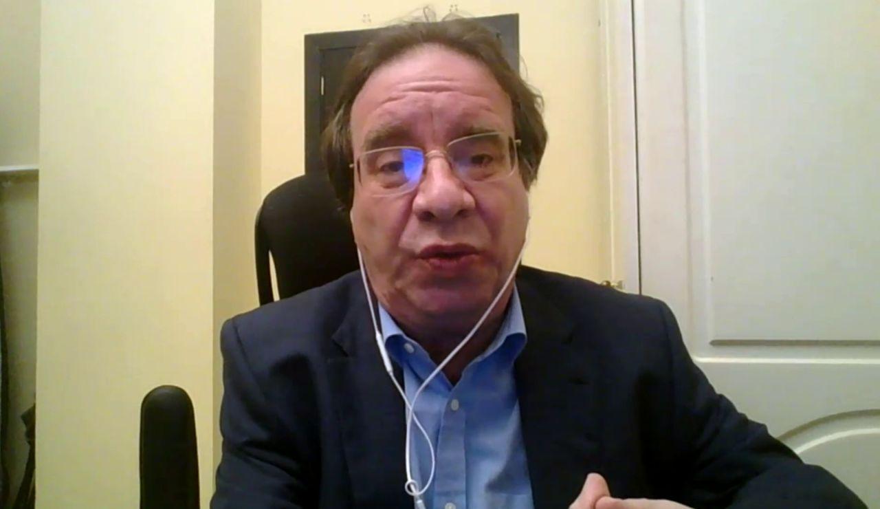 Amos García Rojas, presidente de la Sociedad Española de Vacunología