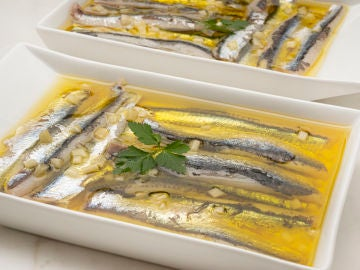 Receta de Anchoas marinadas