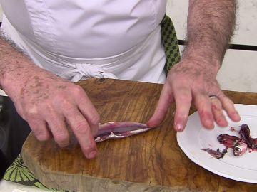 El truco para limpiar la anchoas de Karlos Arguiñano