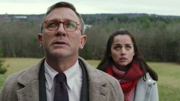 Daniel Craig y Ana de Armas