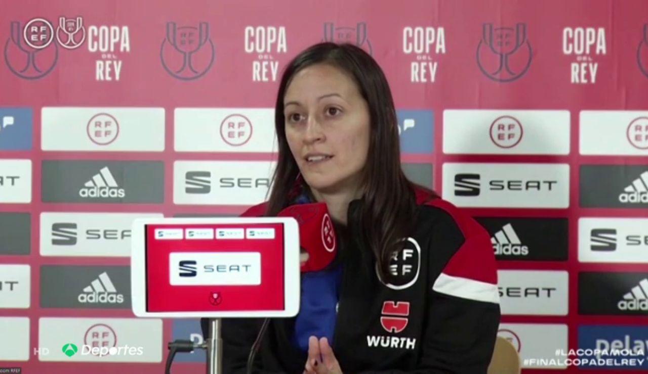 Guadalupe Porras se convertirá en la primera mujer en arbitrar una final de Copa del Rey, será asistente de Estrada Fernández