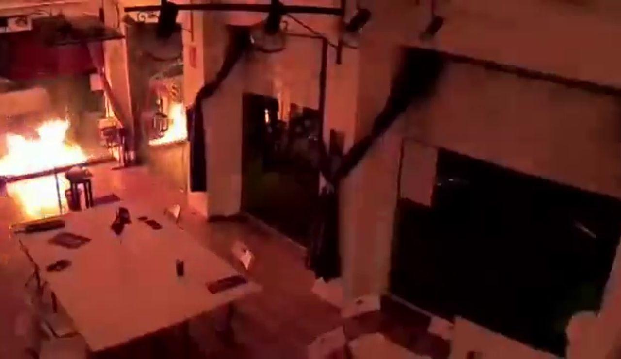 El ataque con explosivo contra la sede de unidas Podemos en Cartagena