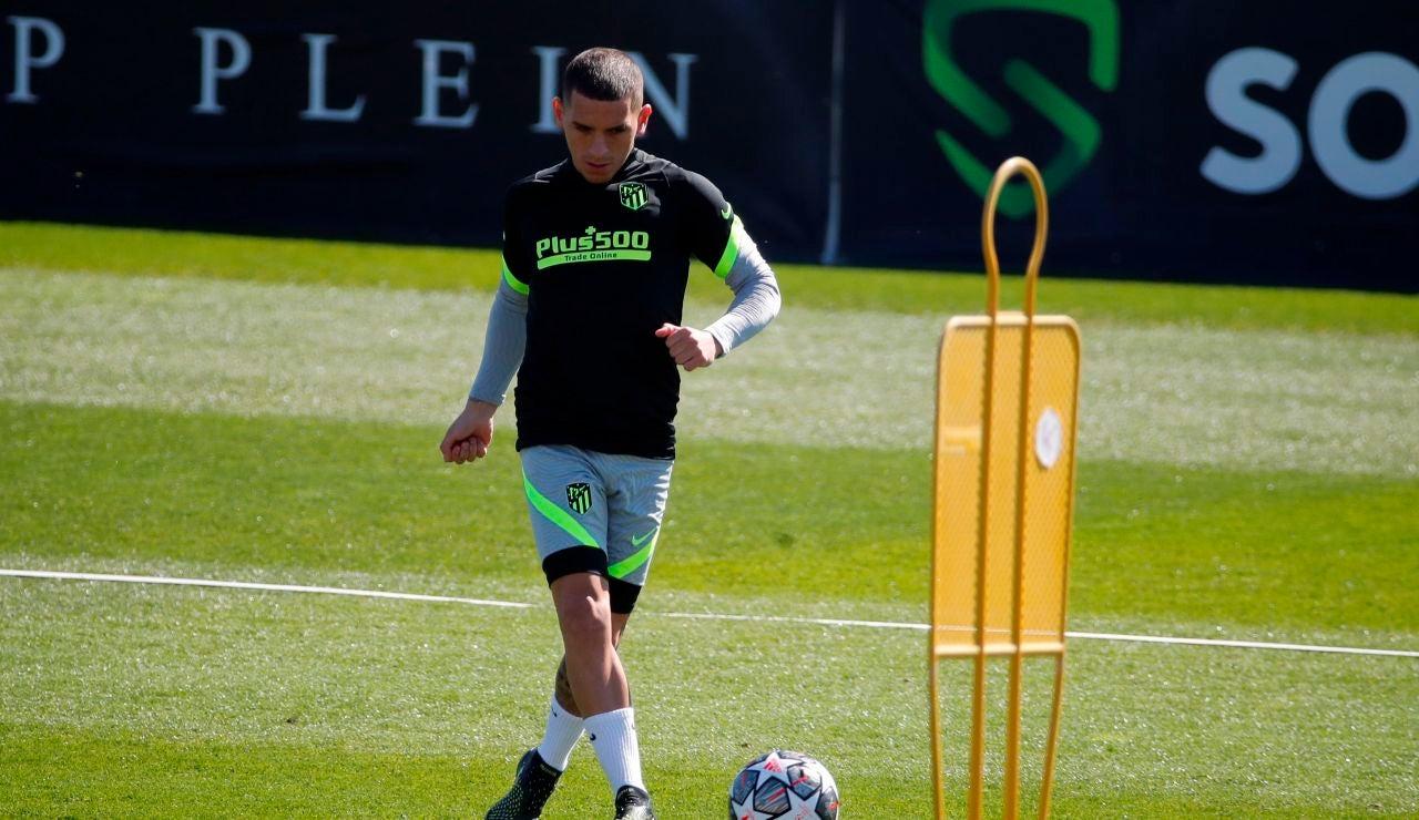 Lucas Torreira, jugador del Atlético de Madrid