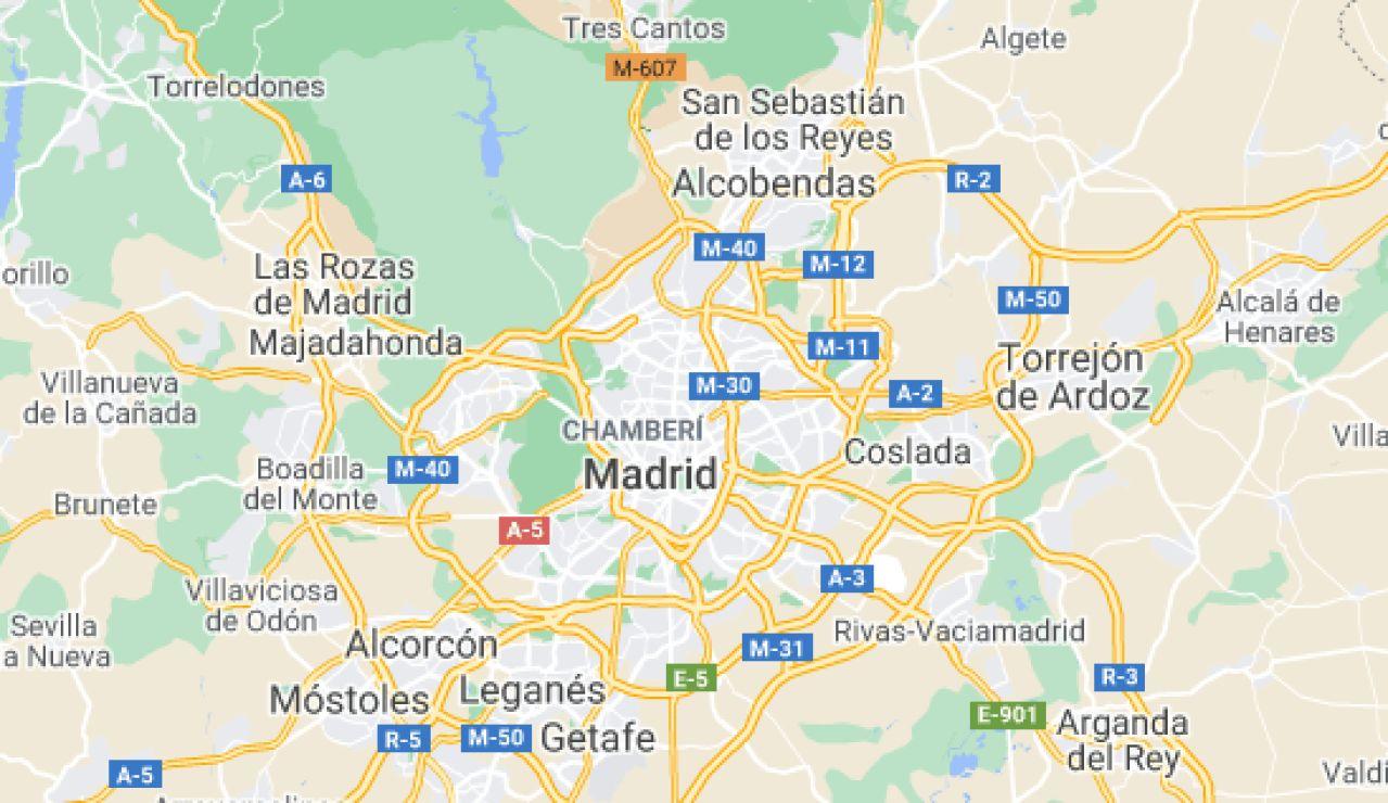 Mapa de las 4 principales bandas latinas que actúan en Madrid: Áreas de acción y objetivos